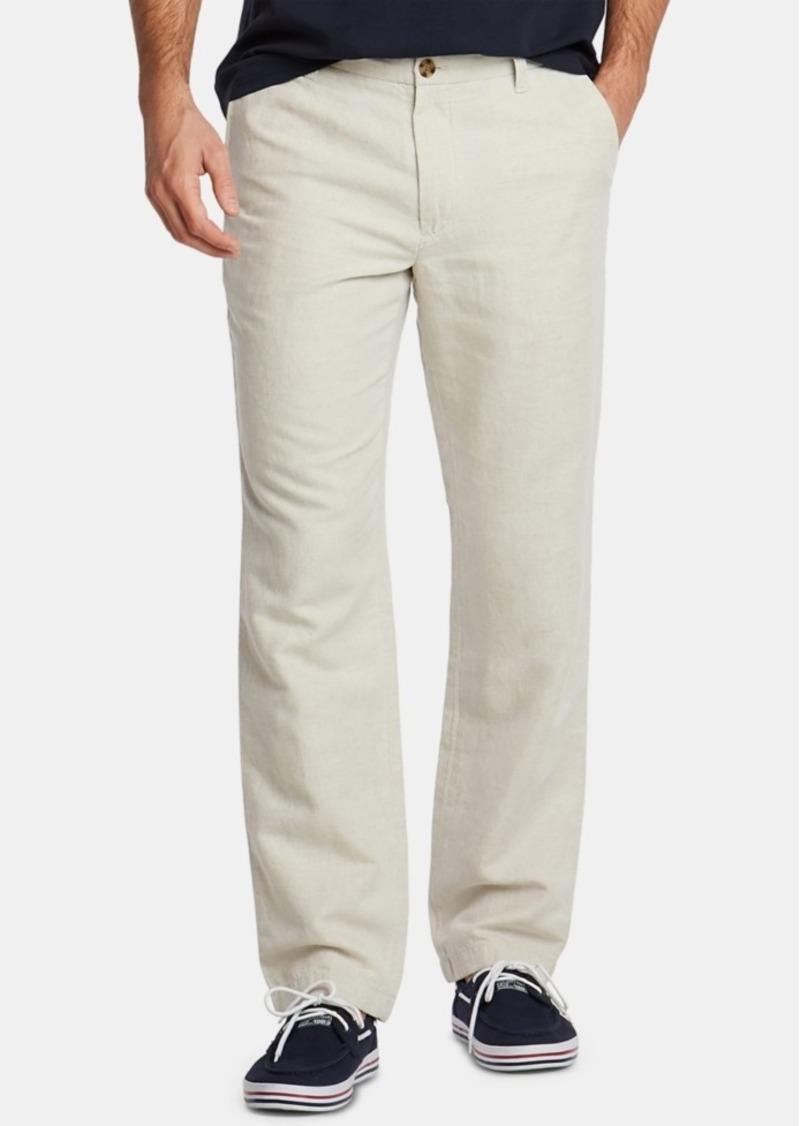 Nautica Men's Classic-Fit Linen-Blend Pants