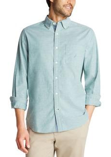 Nautica Men's Classic-Fit Oxford Solid Shirt