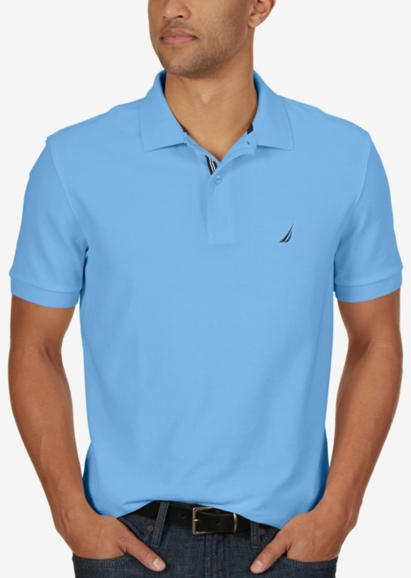 2f72f7be SALE! Nautica Nautica Men's Classic Fit Performance Deck Polo