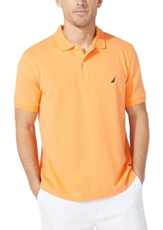 Nautica Men's Classic-Fit Pique Deck Solid Polo Shirt
