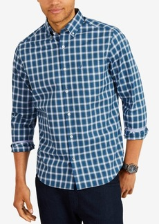 Nautica Men's Classic Fit Plaid Button-Down Shirt