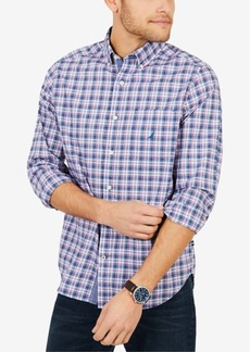 Nautica Men's Classic-Fit Plaid Pocket Shirt