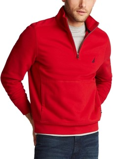 Nautica Men's Classic-Fit Quarter-Zip Fleece Sweatshirt
