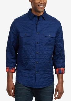 Nautica Men's Big & Tall Quilted Shirt-Jacket