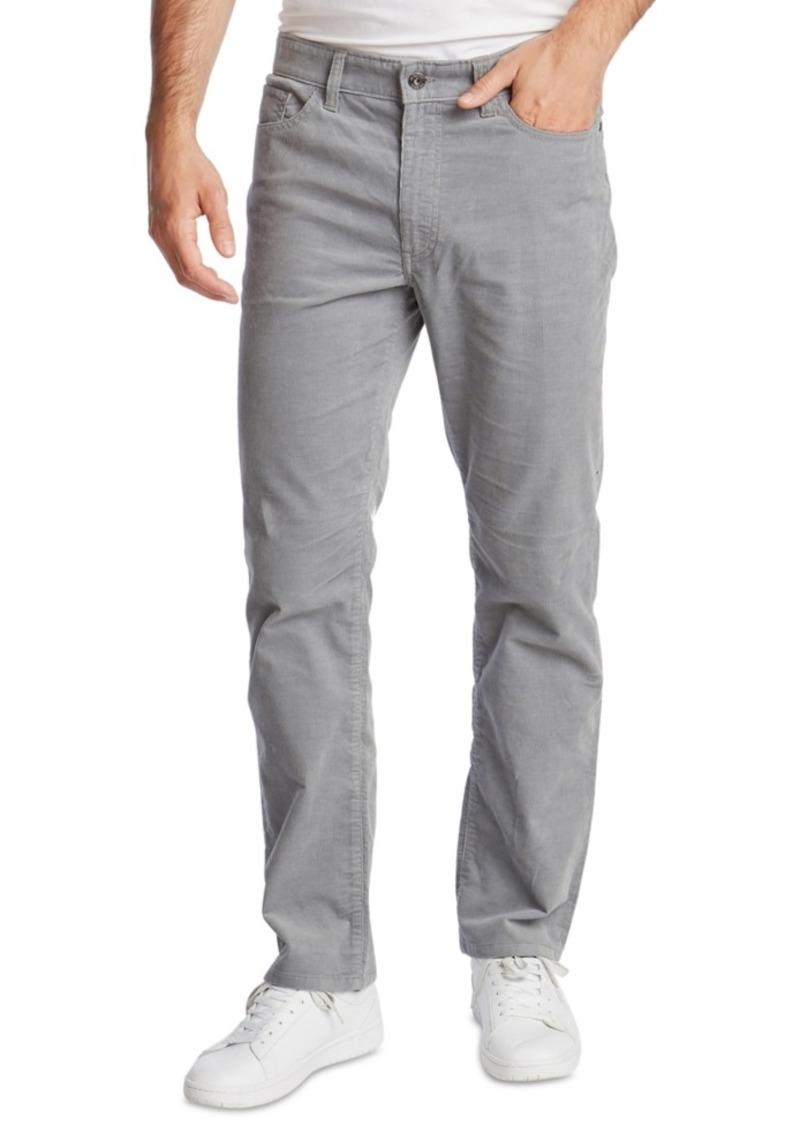 Nautica Men's Classic-Fit Straight Leg Corduroy Pants