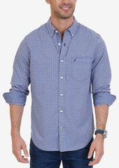 Nautica Men's Classic-Fit Stretch Plaid Shirt