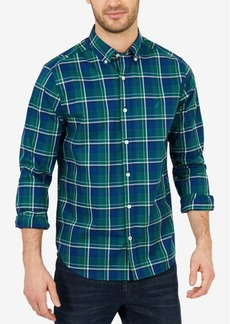 Nautica Men's Classic Fit Stretch Plaid Shirt