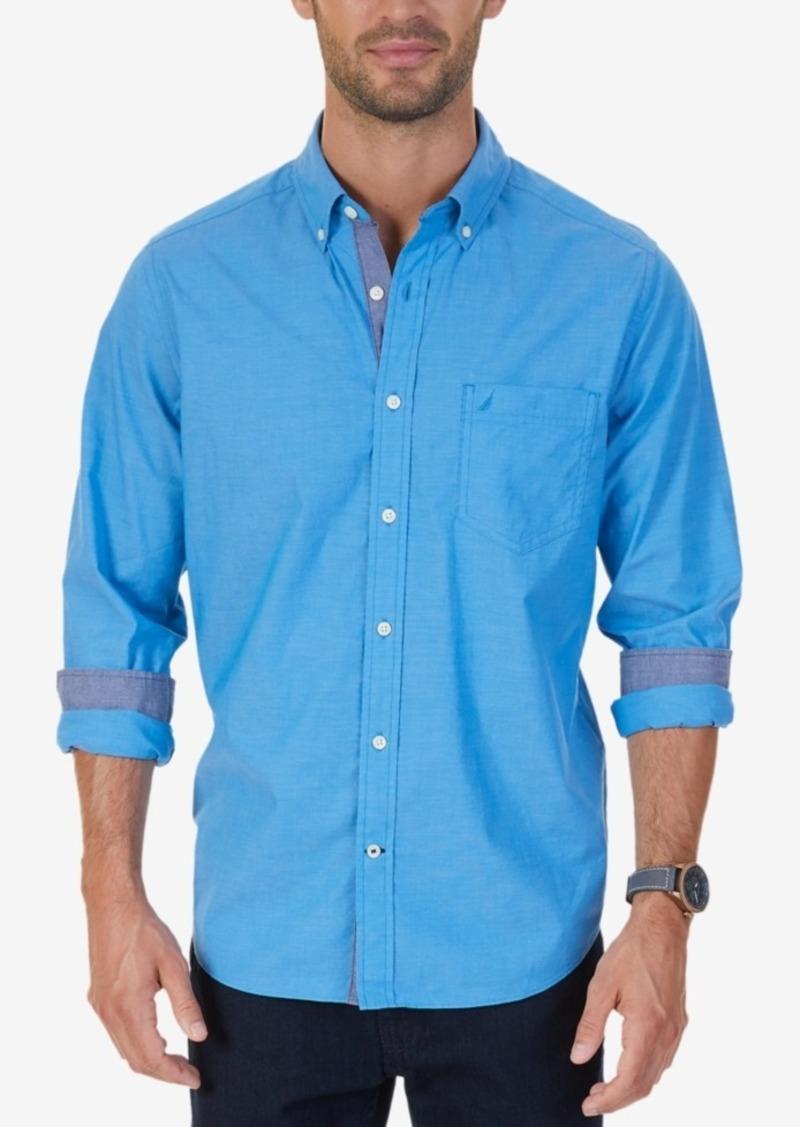 Nautica Men's Classic-Fit Stretch Solid Shirt