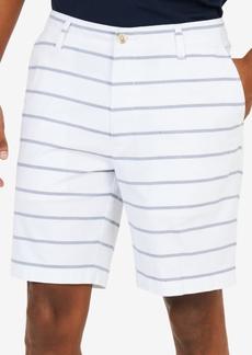 """Nautica Men's Classic-Fit Stretch Stripe 8.5"""" Shorts"""