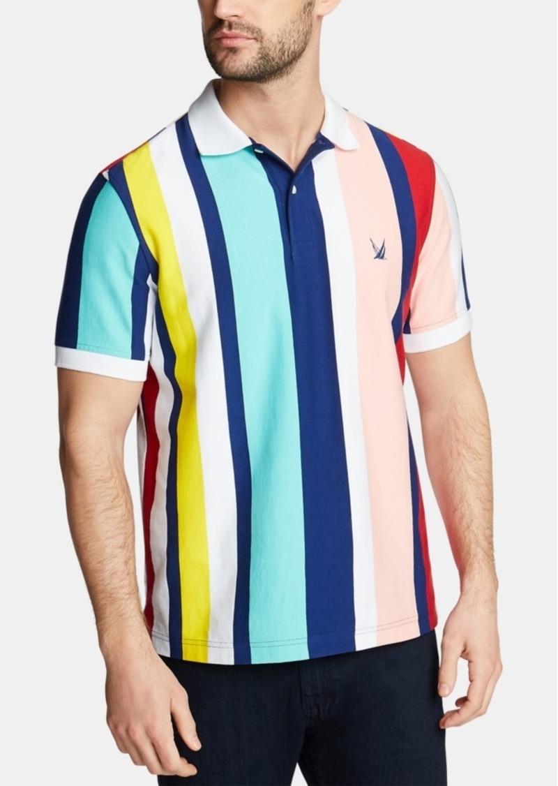 Nautica Men's Classic Fit Stripe Polo, Created for Macy's