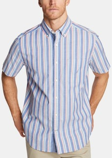 Nautica Men's Classic Fit Striped Button-Down Shirt