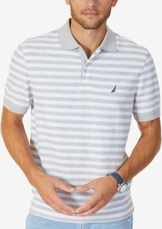 Nautica Men's Classic-Fit Striped Performance Deck Polo