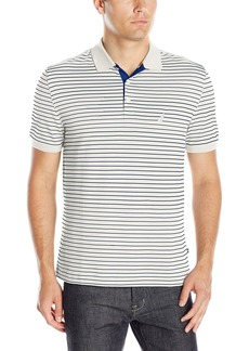 Nautica Men's Classic Fit Striped Polo Shirt