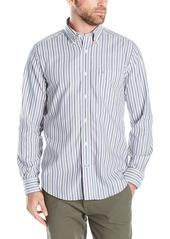 Nautica Men's Classic Fit Wrinkle Resistant Stripe Shirt