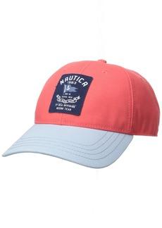 Nautica Men's Classic Heritage Logo Baseball Cap Hat