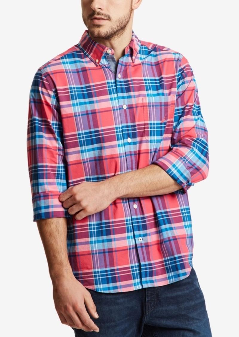 Nautica Men's Classic Plaid Shirt