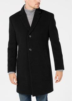 Nautica Men's Classic/Regular Fit Wool/Cashmere Blend Solid Overcoat
