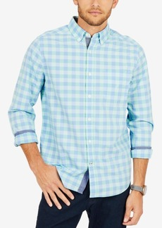 Nautica Men's Coastal Plaid Classic Fit Shirt