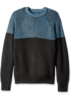 Nautica Men's Color-Blocked Sweater  M