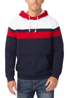 Nautica Men's Colorblocked Fleece Hoodie