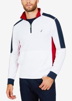 Nautica Men's Colorblocked Half-Zip Pullover