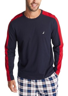 Nautica Men's Colorblocked Pajama Shirt