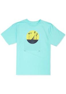 Nautica Men's Colorblocked Sun Graphic T-Shirt