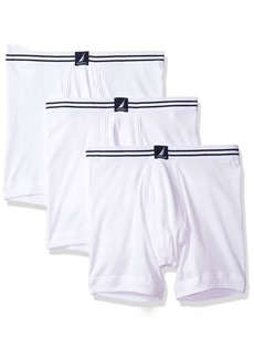 Nautica Men's 3-Pack Cotton Boxer Brief  SM