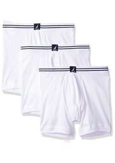 Nautica Men's 3-Pack Cotton Boxer Brief  XL
