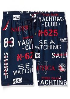 Nautica Men's Comfort Space Dye Contrast Tee