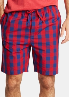 Nautica Men's Cotton Plaid Pajama Shorts