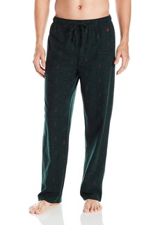 Nautica Men's Cozy Fleece Tree Pant