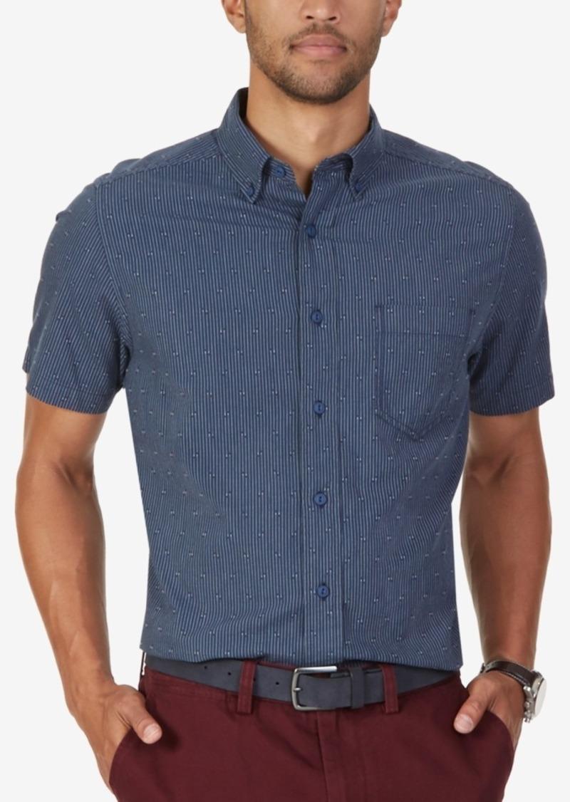 Nautica Men's Dobby Short-Sleeve Shirt