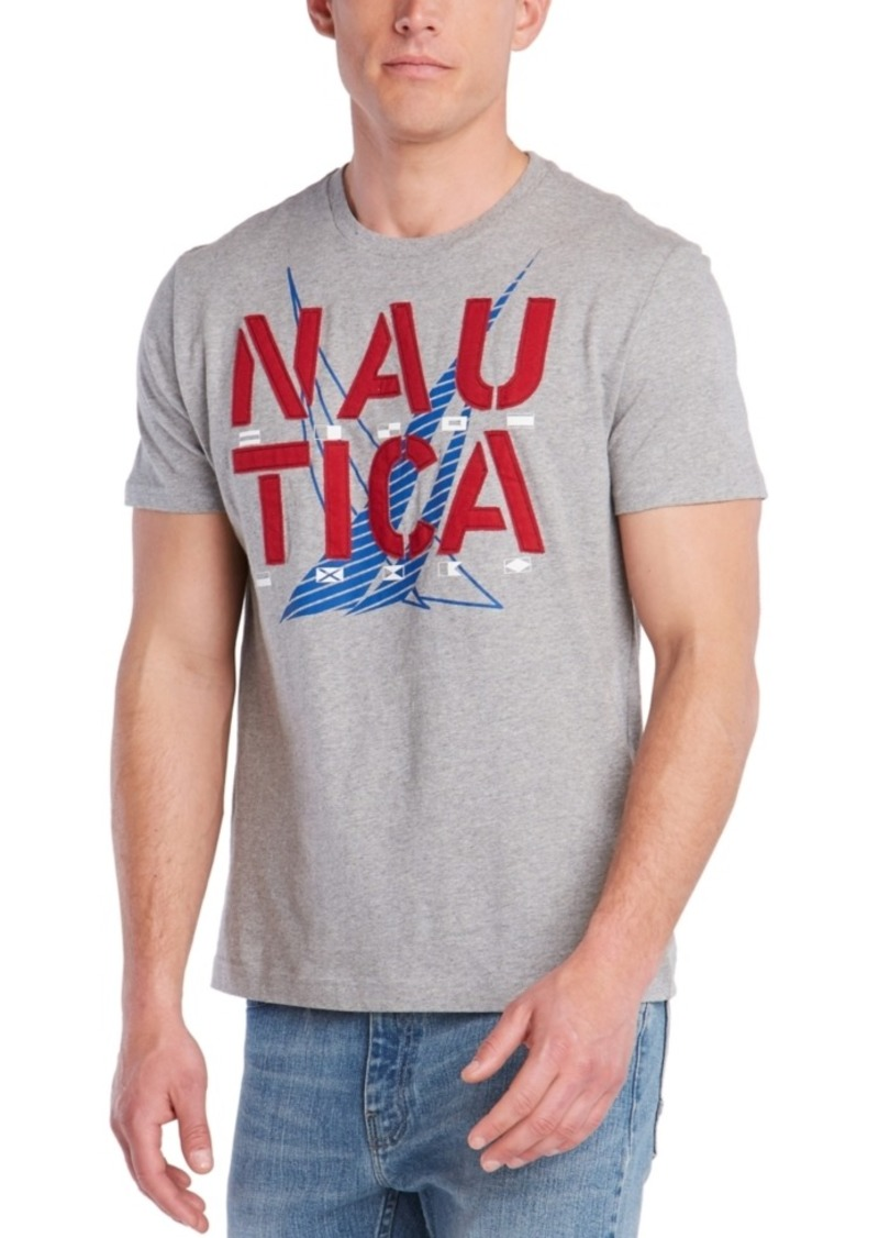 Nautica Men's Dueling J-Class Graphic T-Shirt, Created For Macy's