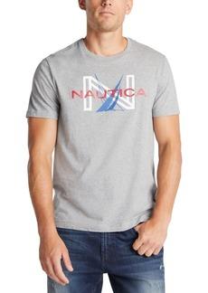 Nautica Men's Dueling J-Class Logo Graphic T-Shirt, Created for Macy's