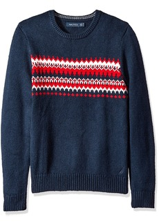 Nautica Men's Fair Isle Sweater  XL