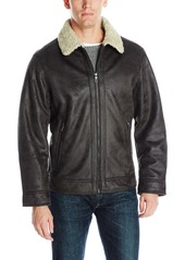 Nautica Men's Faux Sherling Jacket  M