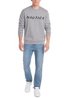 Nautica Men's Fleece Logo Graphic Sweatshirt
