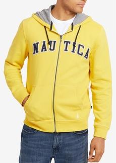 Nautica Men's Full-Zip Logo Hoodie, Created for Macy's