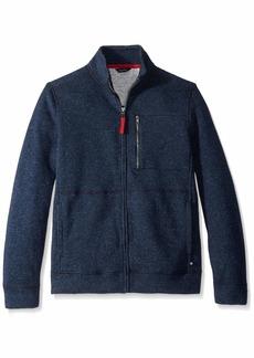Nautica Men's Full-Zip Sweater Fleece Jacket Sweatshirt