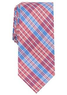 Nautica Men's Giles Plaid Slim Silk Tie