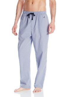 Nautica Men's Gingham Print Woven Pant