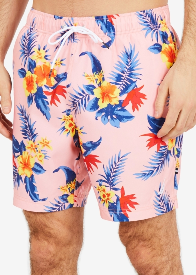 44355d39e1 Nautica Nautica Men's Hibiscus Floral-Print 8