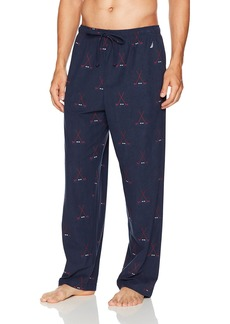 Nautica Men's Hockey Print Cozy Fleece Pant