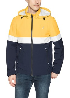 Nautica Men's Hooded Colorblock Jacket  XL