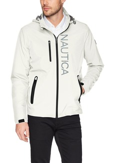 Nautica Men's Hooded Jacket With Logo  XS