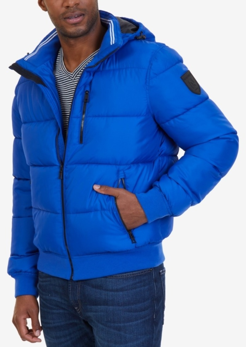 Nautica Nautica Men s Hooded Puffer Coat  14a60d7cde3c
