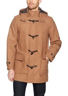 Nautica Men's Hooded Wool Toggle Coat  XXL
