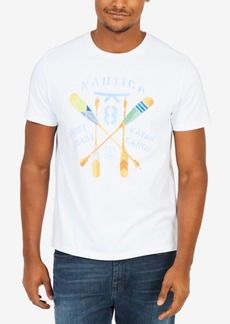 Nautica Men's Kayak Oars Graphic T-Shirt