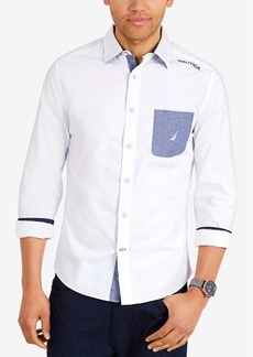 Nautica Men's Lakeside Woven Classic Fit Shirt
